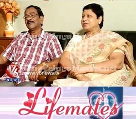 Comedian Kondavalasa Lakshmana Rao Couple in Lifemates
