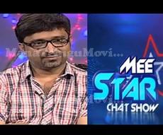 Director Mohan Krishna Indraganti in Mee Star show
