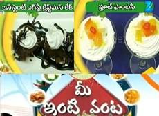 Mee Inti Vanta – 19th Dec : Instant Egg Free Crismas Cake , Fruit Fantasy