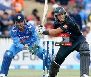 New Zealand v India 4thODI 28th Jan – LIVE