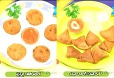 Mee Inti Vanta – 6th Jan  : Chana Dal Samosa , Staffed Mini Puri