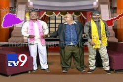Satire on KCR and Chandrababu's poll promises – EGV