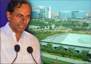 Film industry can not move out of Hyd -KCR