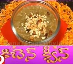 Navaratri Special Recipe – Saggubiyyam Godhuma Halwa – Sweet Home 29th Sep