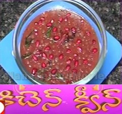 Pink Pappu recipe – Sweet Home  27th Oct