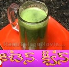 Green Juice recipe – Sweet Home 31st Oct