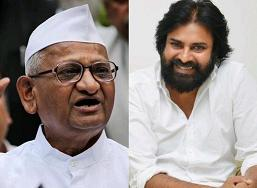 Pawan Finds A Supporter In Anna Hazare