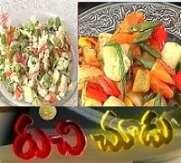 Nutri Chat,Glazed Vegetables Recipes – Ruchi Chudu 22nd Sep