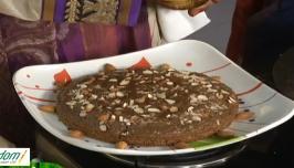 Maa Voori Vanta 2 E 310 : Almond Cake   Korrala Karivepaku Rice   Guttivankaya Avakaya