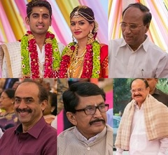 Lahari Music Manohar Naidu Son Marriage Photos