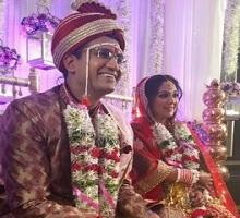 Actress Ankita Jhaveri Wedding Photos