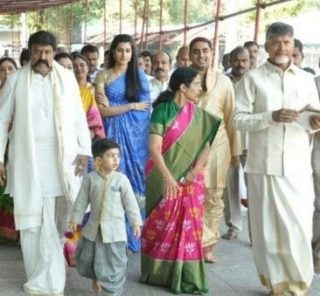 Nara Nandamuri Family at Tirumala Darshan Photos