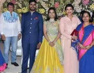 Celebs at Paritala Sneha Ring Ceremony Photos