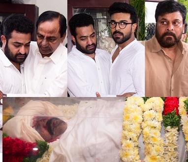 Celebrities Condolences to Nandamuri HariKrishna – Gallery
