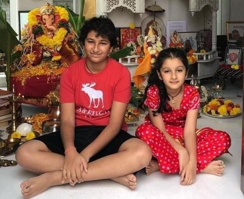Mahesh Babu kids and Wife celebrating Ganesh Chathurthi – Gallery